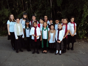 Getting Ready to Sing with the California Philharmonic